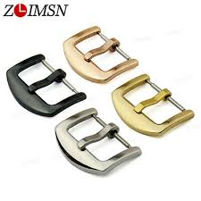 <b>10Pcs ZLIMSN</b> Men Women Stainless Steel Clasp Wrist <b>Watch Band</b> ...