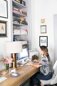 pinterest office desk. how to design a charming office in under 200 square feet pinterest desk