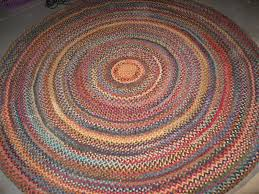 round braided rugs clearance