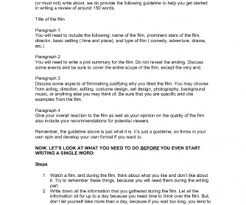 How To Write A Movie Review Writing A Film Review
