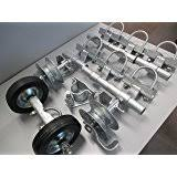 chain link fence rolling gate parts. Chain Link Rolling Gate Hardware Kit (3\ Chain Link Fence Rolling Gate Parts