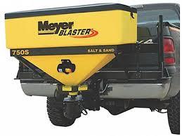 meyer blaster salt spreader hitch mounted 350 750 meyer blaster salt spreader
