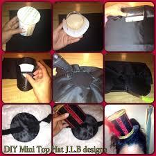 diy mini top hat tutorial