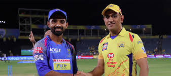 #csk lose two wickets in the powerplay with 46 runs on the board. M17 Csk Vs Rr Match Highlights
