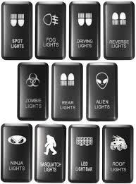 Toyota Hilux Fog Light Switch Jonathan Shop Led Fog Light Bar Push Switch For Toyota