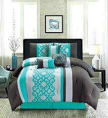 turquoise king size bedding comforter full twin set purple and grey sets