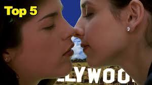 Celebrity lesbian kiss movies