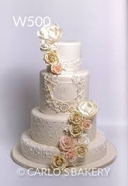 Carlos Bakery Wedding Cakes
