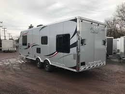 2018 new atc aluminum trailer pany 8 x 25 toy hauler in pennsylvania pa
