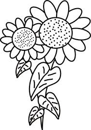 Small Picture Coloring Pages Of Sunflowers Coloring Pages