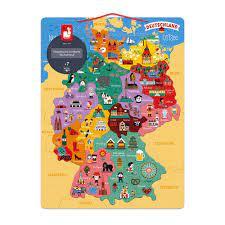 With jonas nay, maria schrader, sylvester groth, corinna harfouch. Magnetische Landkarte Deutschland Deutsch Holz Magnetische Puzzle Janod