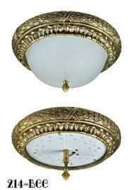 victorian or edwardian close ceiling light flush mount 15w led bowl 214 bcc