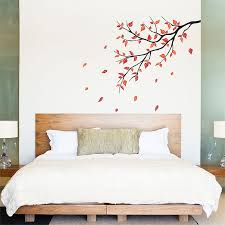 autumn leaf fall tree branch vinyl wall