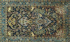 lot 1272 persian isfahan rug tree of life design flower vase and animals