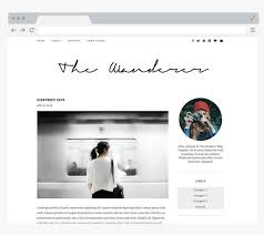 Interior Designer Blogs Custom NEW Premade Blogger Template Simple And Clean Blog Design Etsy