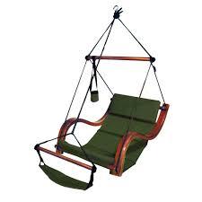 com sky air lounger porch patio swing with wooden armrest green garden outdoor