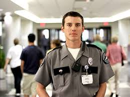 Hospital Security Guard Hospital Security Guards Facing Increased Violence Due To Meth