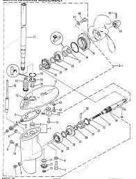 Mercury outboard by year mariner outboard oem parts diagram for gearhousing assembly boats