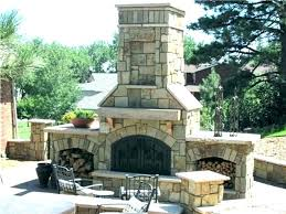 firerock pizza oven outdoor stone fireplace kit traditional within firerock outdoor fireplace