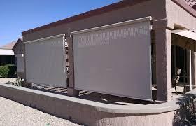 door ideas medium size outdoor patio wind blockers icamblog weather screens shades solar blinds fortress enclosures
