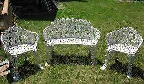 white iron outdoor furniture. Fine Outdoor White Iron Garden Furniture White Iron Garden Furniture Awesome Patio  Furniture Kcareesma Info Pics To Outdoor E
