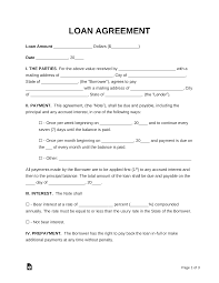 Permalink to Simple Loan Agreement Sample – Loan Agreement Free Template Word Pdf Download Tracktime24 : A simple loan agreement allows a lender grant someone else a sum of money for a period of time with the expectation of being paid back.