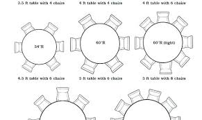 round table for 10 round table size for 6 stirring guide wedding or party guest seating round table