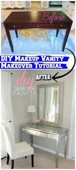 diy makeup vanity table. Fine Diy DIY Easy Makeup Vanity Makeover To Diy Makeup Vanity Table E