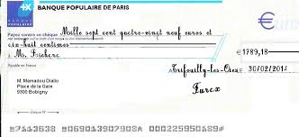 France How Do I Pay With A French Cheque Expatriates Stack Exchange