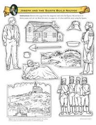 Small Picture Joseph Smith Protects the Golden Plates Coloring Page FHE Ideas