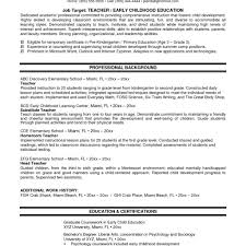 Toddler Teacher Resume Services Invoice Template Logistics Resume