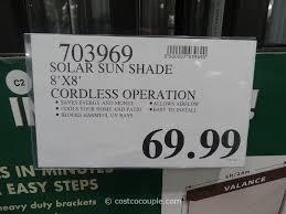 costco outdoor patio shades design and ideas