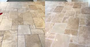 travertine floor with grout colour enhanced and sealed p mac