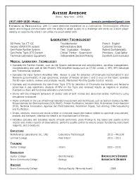 Medical Lab Technician Resume Enchanting Medical Laboratory Assistant Resume Medical Laboratory Assistant