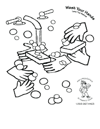 washing hands coloring page hand washing steps coloring page