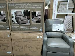 synergy ine leather recliner costco home swivel glider