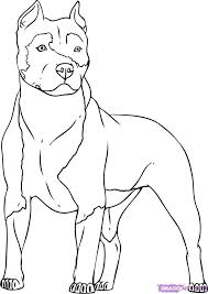 Pitbull Dog Free Coloring Pages On Art Coloring Pages