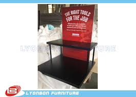 Foam Board Display Stand Delectable Black Knives Display Stand With 32 Shelves And 32 Metal Support Tubes
