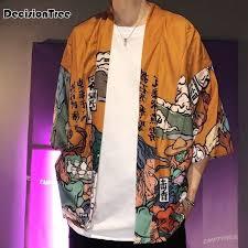 <b>2019 summer</b> japan style <b>kimono</b> men 100% <b>cotton</b> Male <b>Kimono</b> ...