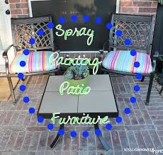 furniture spray paintPainting Patio Furniture  WellGroomed Home