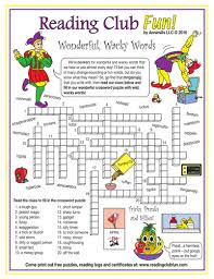 April Fools' Day With Fun Words Crossword Puzzle | Teaching Resources