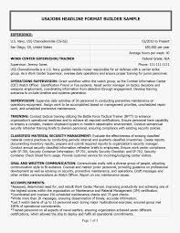 Government Cover Letter Photo 61 Inspirational Resume For Government