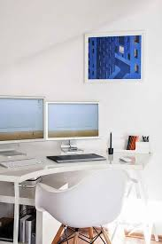 Apple office design Spaceship Apple Style Clean And Bright Home Office Design Lineartsinfo Stunning 15 Home Office Design Ideas For Your Inspiration Interior