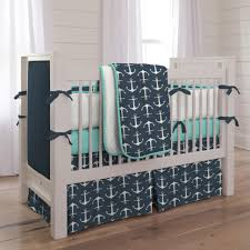 mesmerizing turquoise baby bedding teal trendy boy anchors version sheets grey and white cot anchor crib