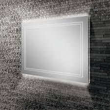 mirror frame outline. HIB Outline 80 Landscape LED Illuminated Mirror - 78759000 Frame O
