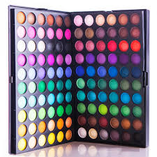 made in china professional brand 120 full colors eyeshadow eye shadow palette makeup cosmetic make up