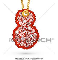 8 march flower element clip art