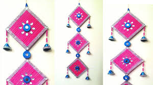 dazzling design ideas wall hanging home wallpaper newspaper crafts you from waste bangles hangings uk with