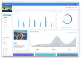 Material Charts Angular 23 Best Angularjs Admin Dashboard Templates 2019 Colorlib