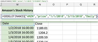 Google Finance Stock Quotes Beauteous How To Link Spreadsheets Share Data In Google Sheets